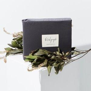 Eucalyptus Sheet Set Twin New Charcoal